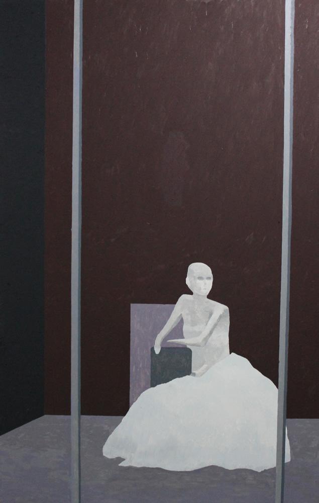 130 x 84 cms. 2015. Oil on canvas